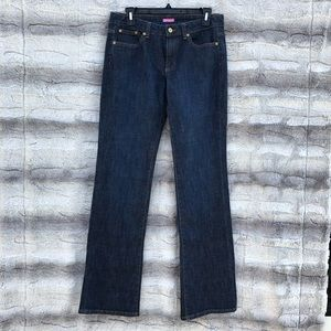 Lily Pulitzer Size 6 Dark Wash Main Line Fit Jeans